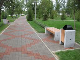 Парковые урны, лавки и скамейки из гранита