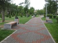 Уличные лавки и урны из гранита для парков и скверов